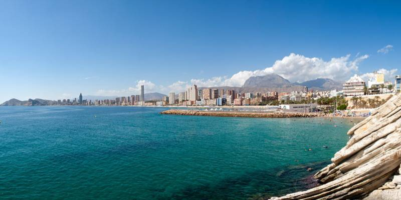 You will find your home on the Costa Blanca in our Real Estate Agency in Benidorm